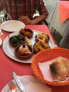 Питание в испании